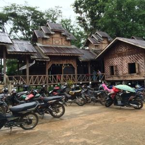Teak monastery, Hsipaw, Shan State
